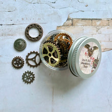 Load image into Gallery viewer, Steampunk Cog Pot