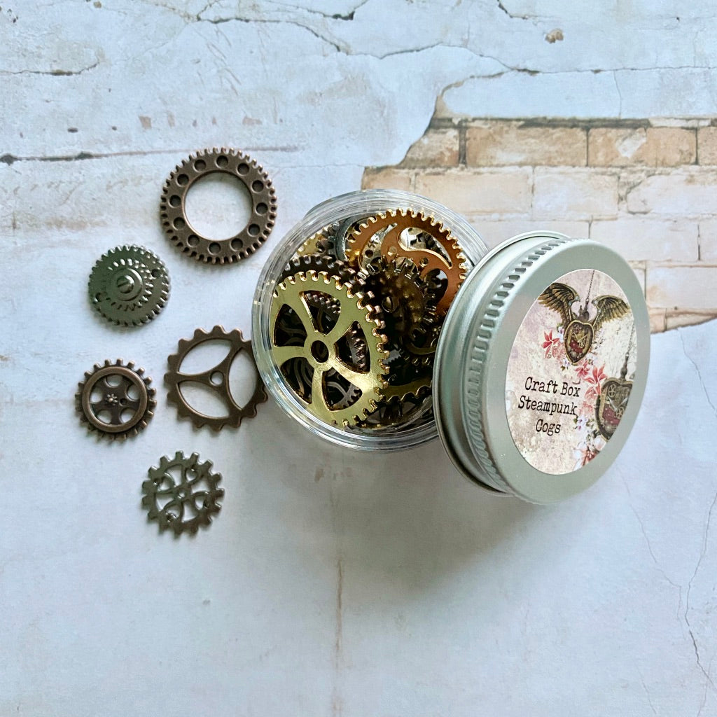 Steampunk Cog Pot