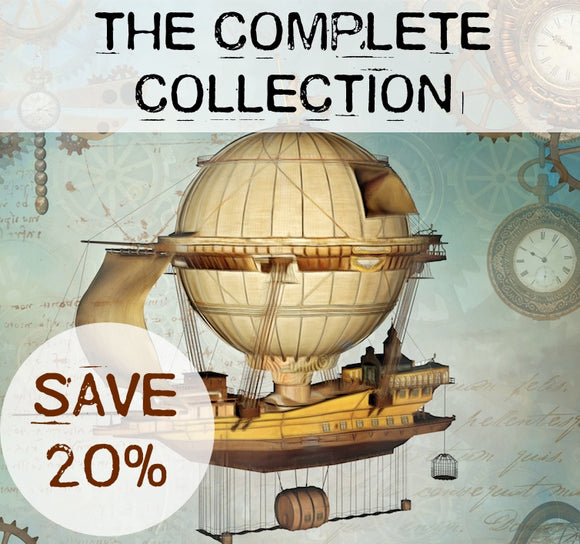 Preorder: Steampunk City The Complete Collection