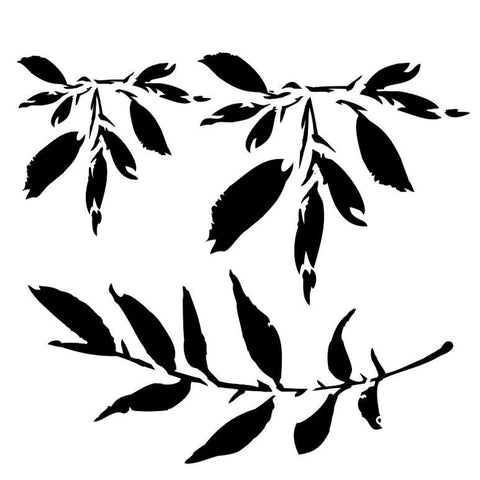13Arts Stencil - Leaves (UK stock)