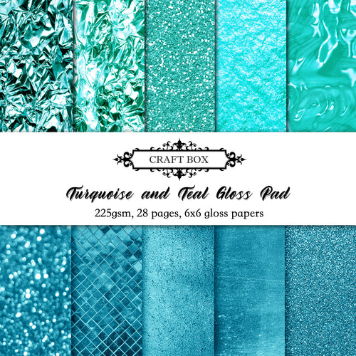 BACKORDER: Turquoise and Teal Gloss - Come Home Companion Pad