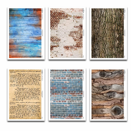Decoupage Rice Papers - All Textures