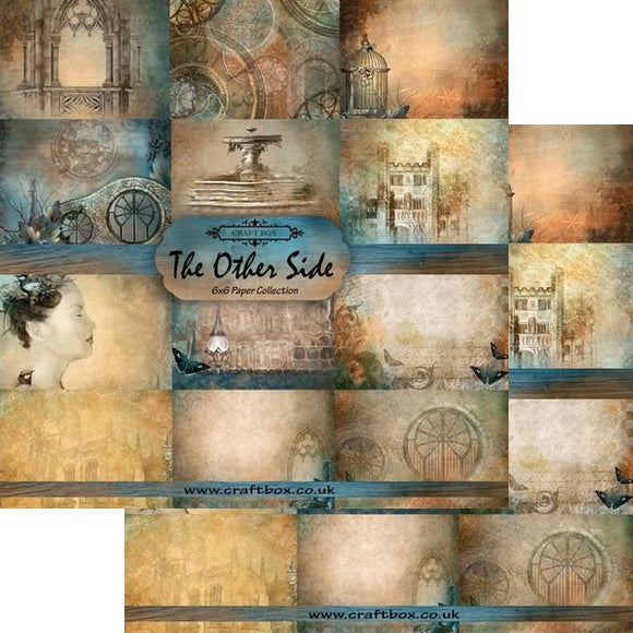 The Other Side 6x6 Paper Collection by Craft Box DUO