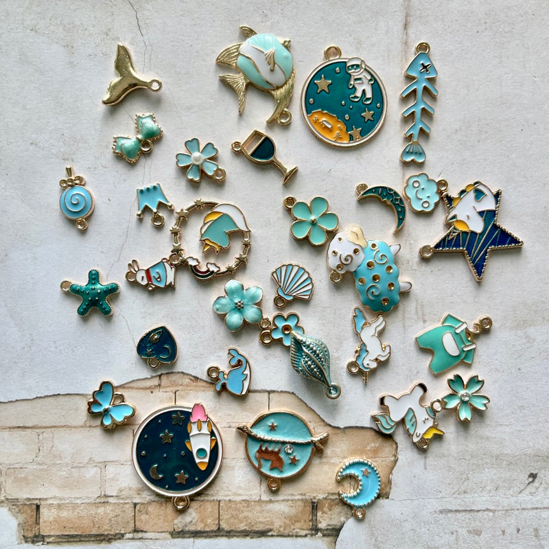 Blue Enamel Bundle