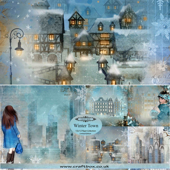 Winter Town 12x12 Limited Edition Paper Collection (DUO PACK)