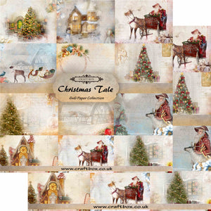 Limited Edition: Christmas Tale 6x6 Paper Pad DUO PACK