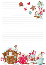 Load image into Gallery viewer, NEW! Stationery - Sweet Christmas - A5 Notepad