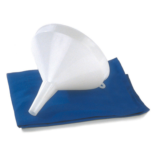 6-inch White Poly Funnel PF6