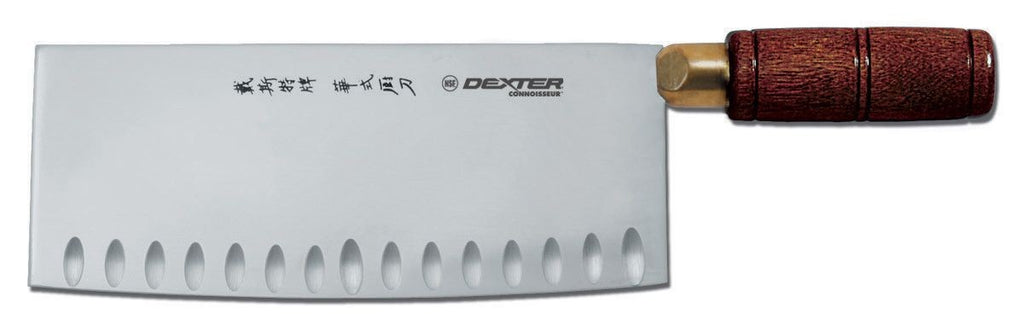 8-inch x 3 1-4 duo-edge Chinese chefs knife - Dexter 08210