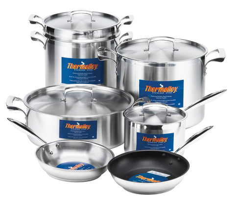 Browne Foodservice - Browne Thermalloy Stainless Steel Cookware Collection