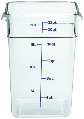 Camwear 174 Polycarbonate Camsquare Food Storage Container