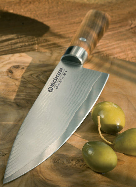 B 246 Ker Damascus Olive Collection The Chefs Company