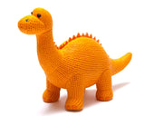 MY FIRST DIPLODOCUS NATURAL RUBBER DINOSAUR TOY