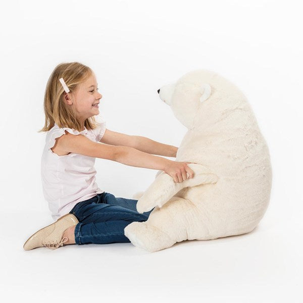 Seated Polar Bear