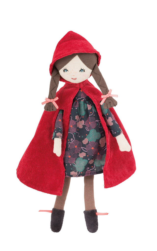 Mini little red riding hood doll
