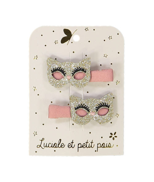Party & Ceremony hair clips - cat masks