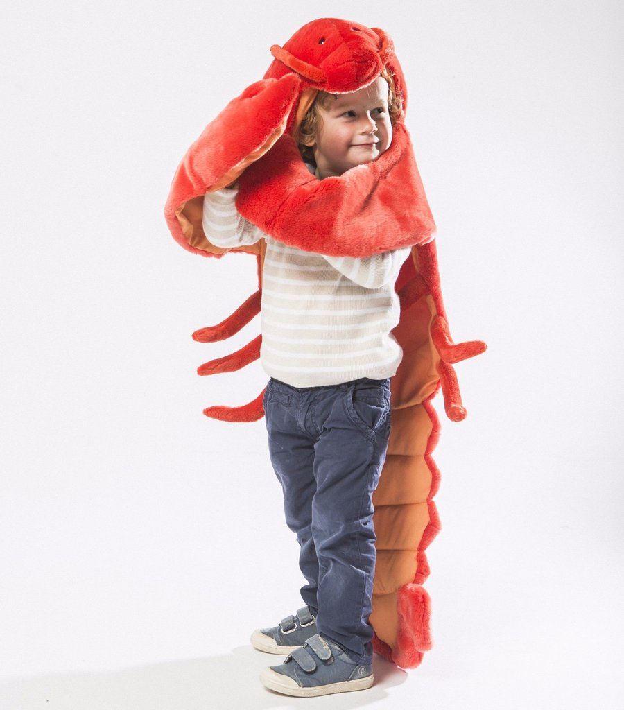 Lobster disguise costume