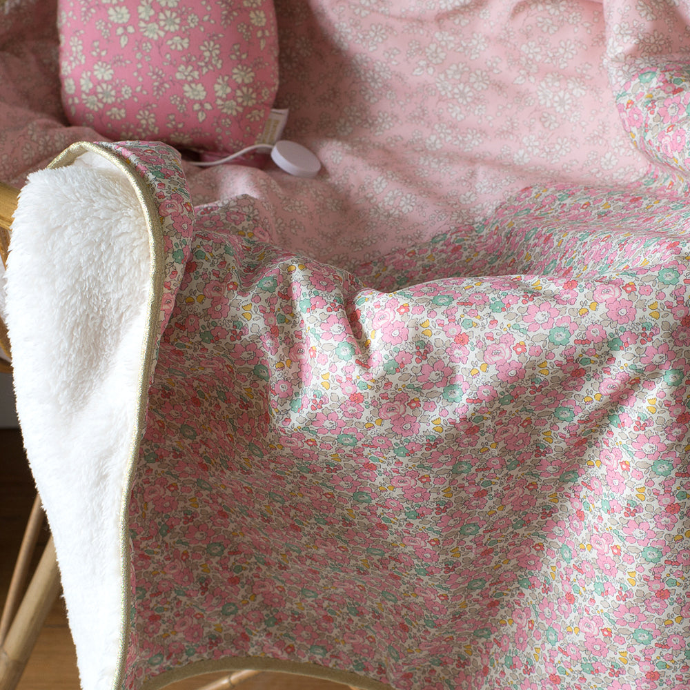 Baby blanket Betty in Liberty fabric