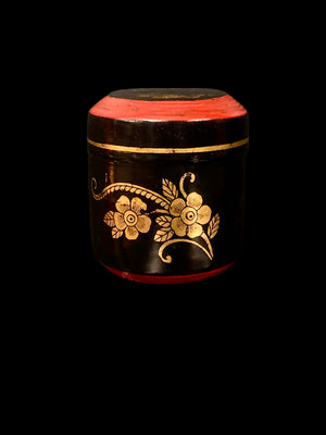 Antique Red and Gold Chinese Box