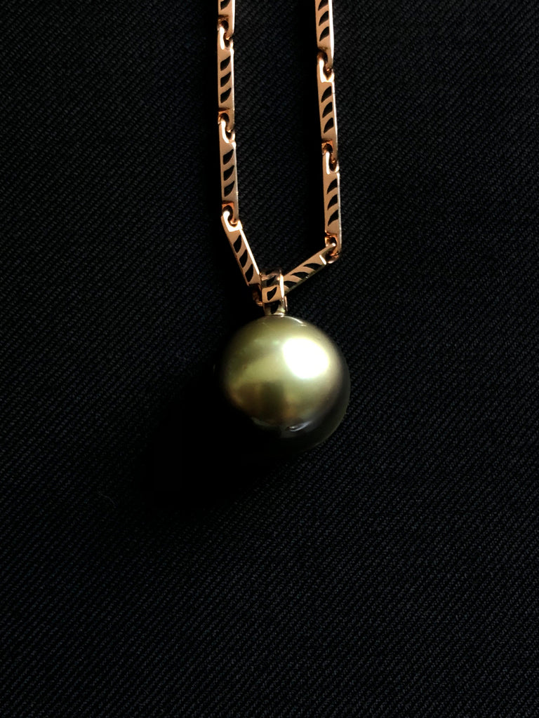 One of a Kind Gray Pearl