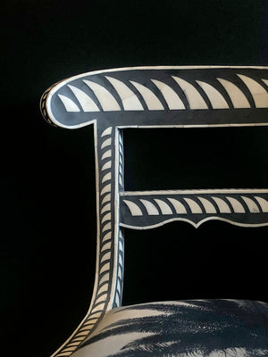 Shark Fin Inlay Chair