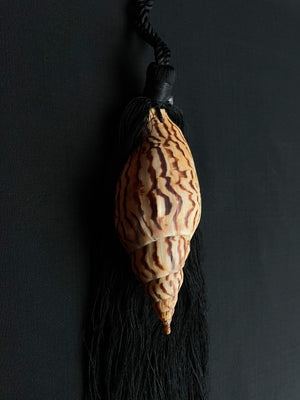 Volute Shell Tassel