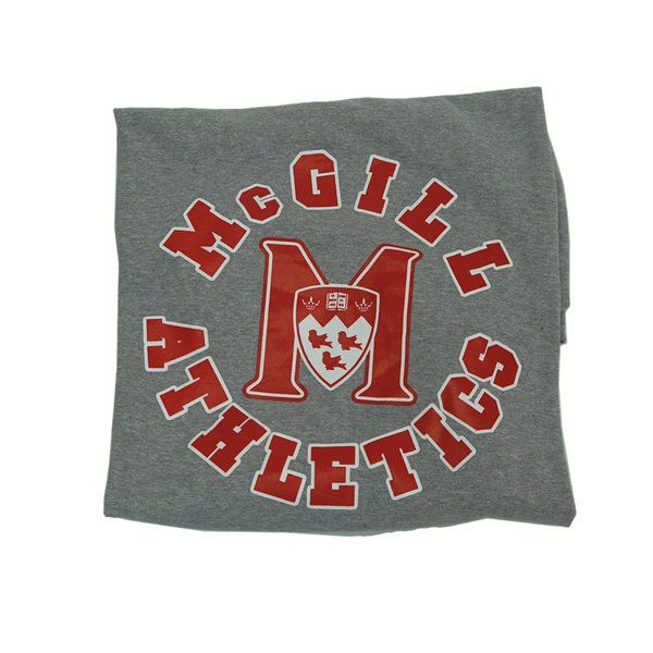 Fleece Blanket with McGill Athletics custom print
