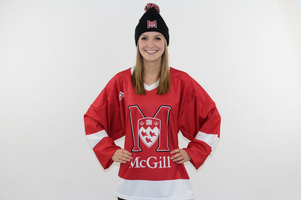 Replica McGill Hockey Jersey: adult and kids