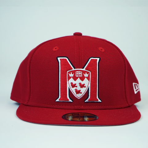 M logo, McGill red, 59FIFTY New Era fitted