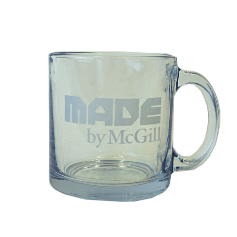 Made by McGill Glass Nordic mug