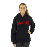 McGill Classic Felt Embroidery Hoodie