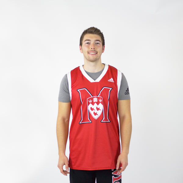 Basketball Jersey-McGill Basketball replica jersey