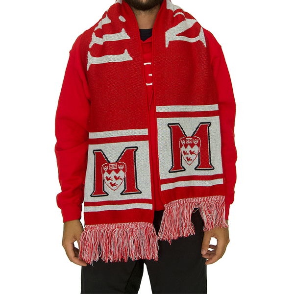 McGill Knit Scarf