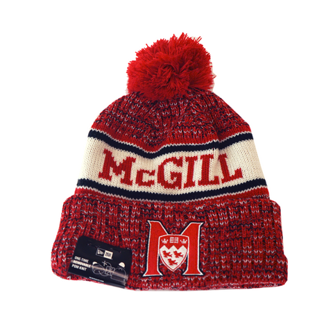 McGill Sport Knit Toque by New Era