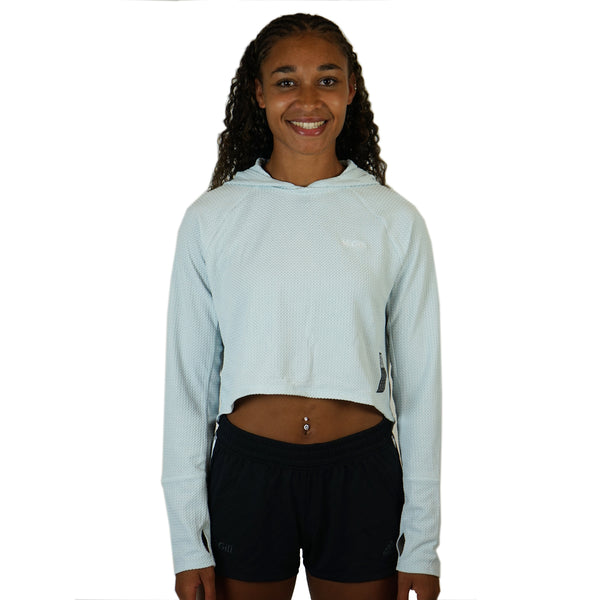 McGill-Women's Cropped Run Hoodie