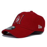 "M logo ""Dad hat "" in red-9TWENTY"