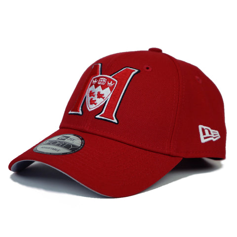 M logo- red 9FORTY snapback