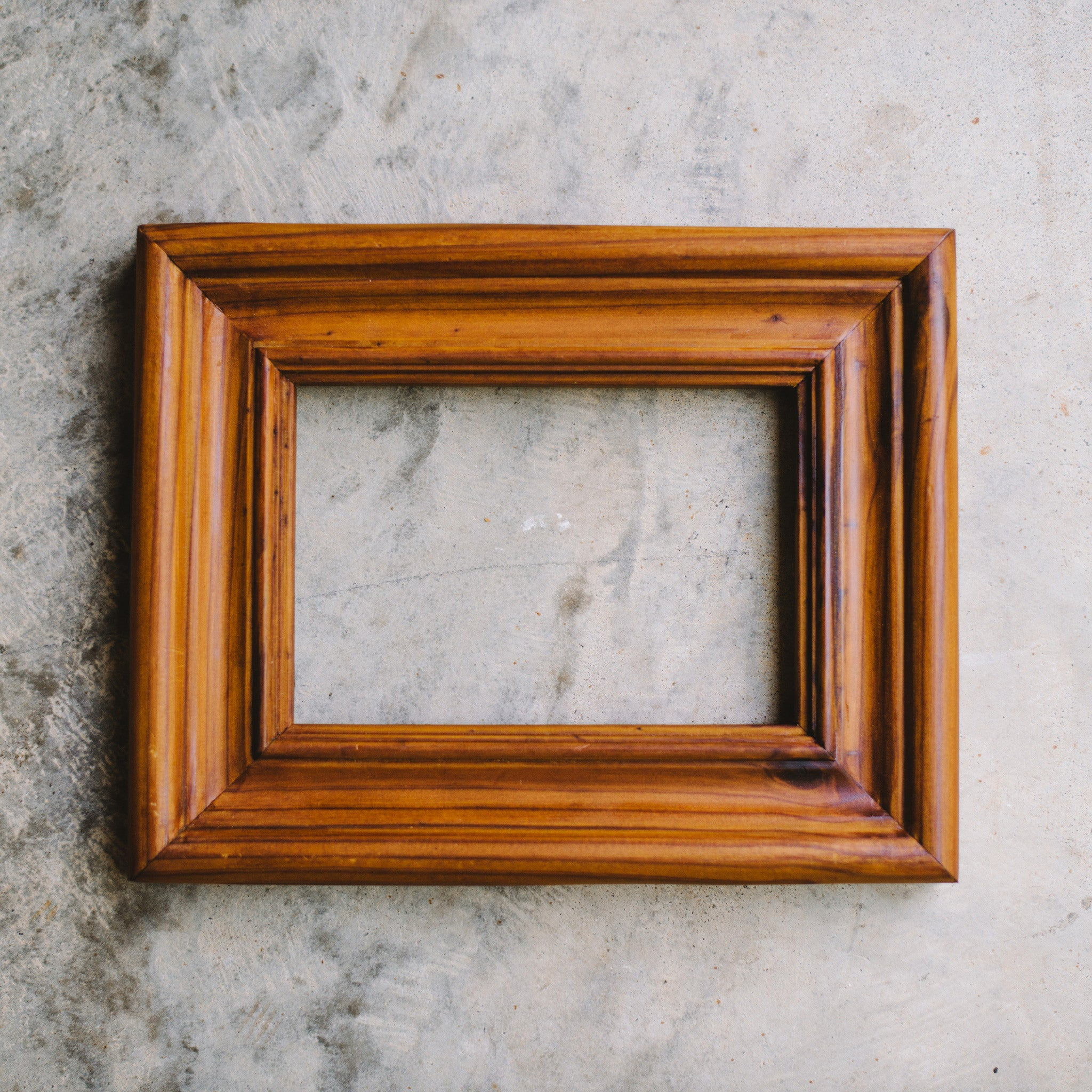 the heart pine wooden picture frame by chirpwood is the classically chic frame that you