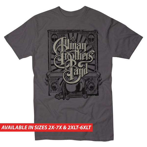 Allman Brothers Band Frame - Men's Big & Tall Short Sleeve Tee