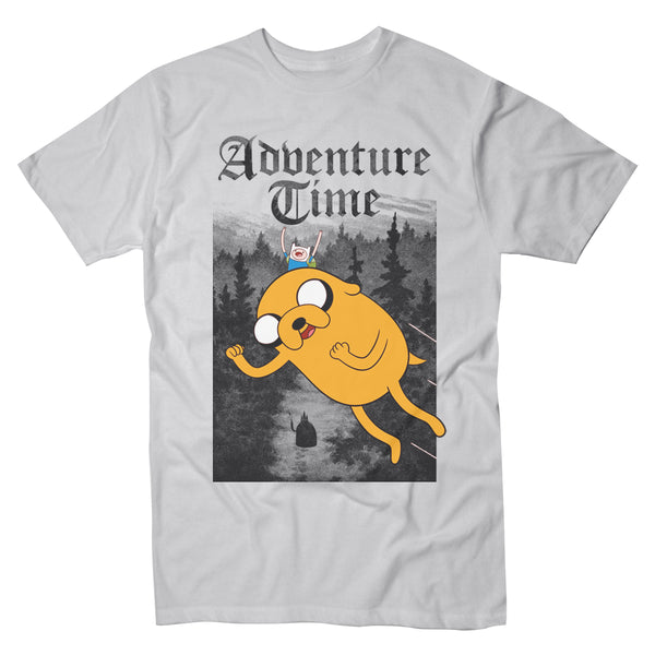 Adventure Time Flying Creepy Forest