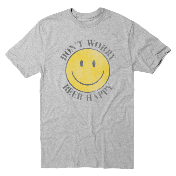 Don't Worry Beer Happy - Men's Tee