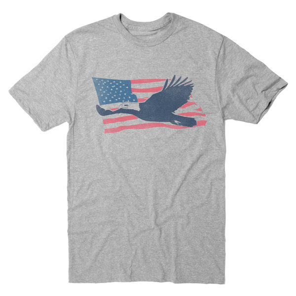 Eagle Flag Wave - Men's Tee