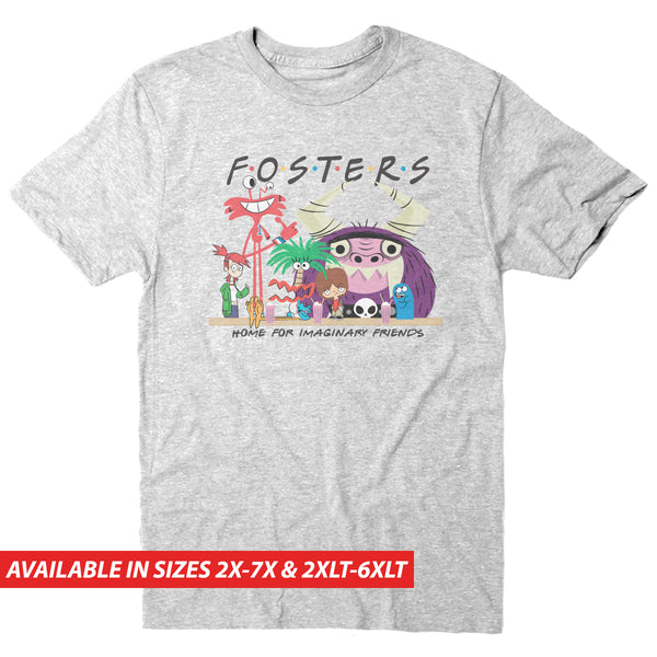 "Foster's ""Friends"" Group - Men's Big & Tall Short Sleeve Tee"