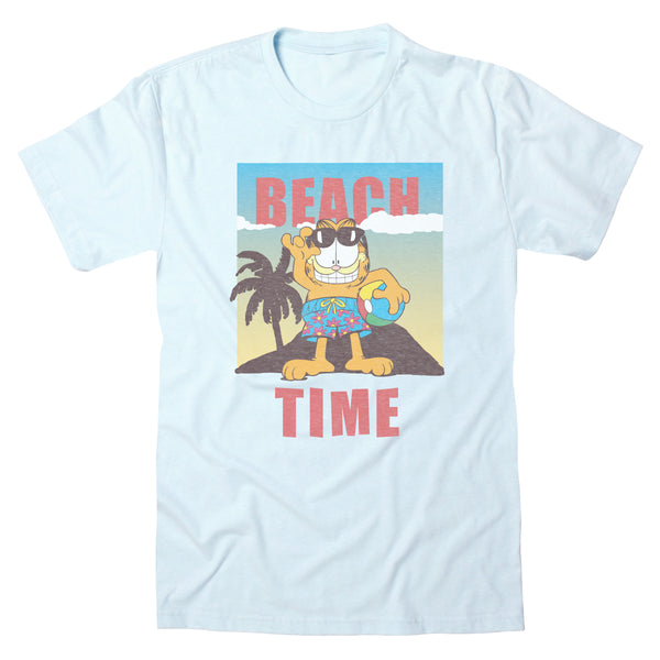 Garfield Beach Time - Men's Tee