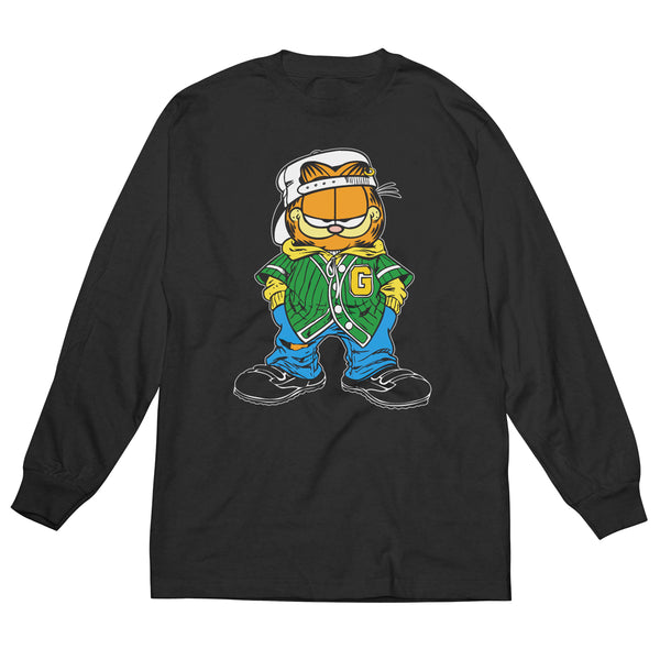 Garfield Nineties Attitude - Men's Long Sleeve Tee