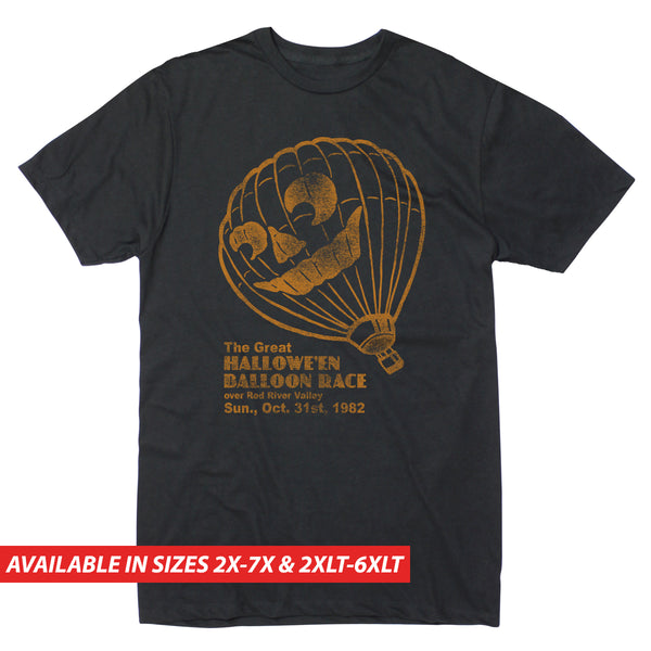 Halloween Balloon Race - Men's Big & Tall Short Sleeve Tee