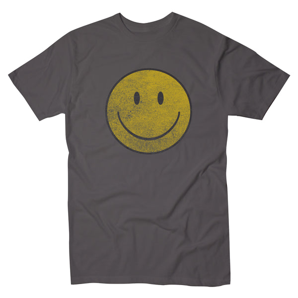 Happy Face Heavy Distress - Men's Tee