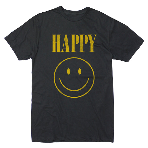Happy Grunge Stack - Men's Tee
