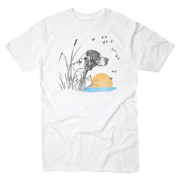 Hunting Dog Birds - Men's Tee