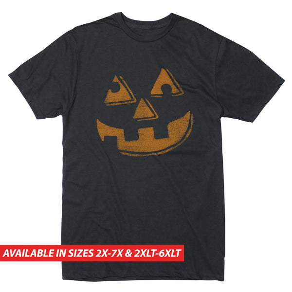 Jack O'Lantern Face - Men's Big & Tall Short Sleeve Tee